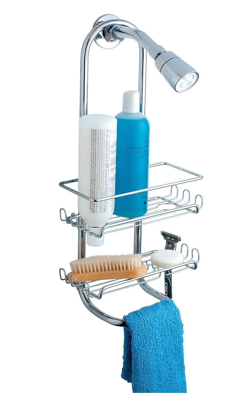 Amazon.com: InterDesign Classico Bathroom Shower Caddy for Shampoo ...