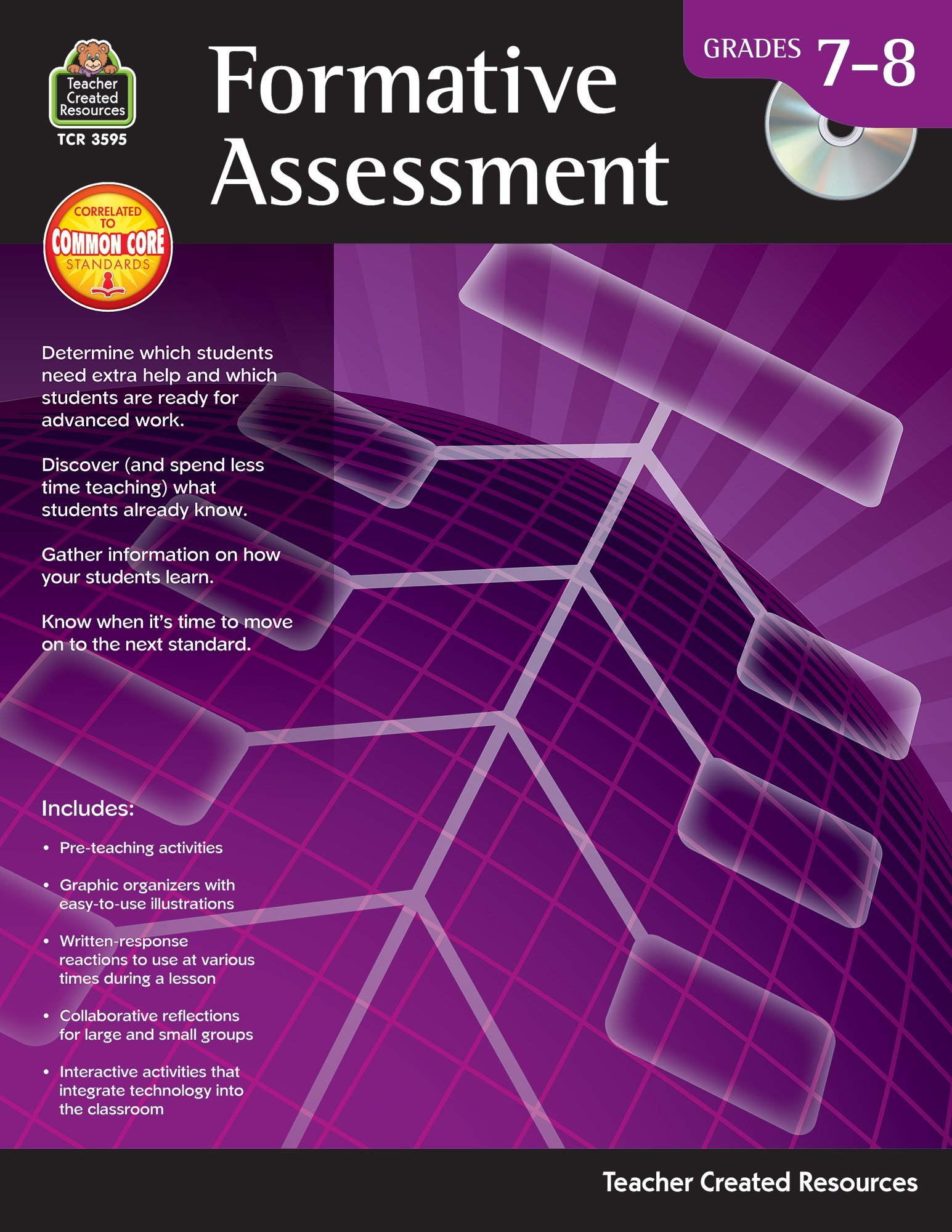 Formative Assessment Grade 7-8 Paperback – Jan 8 2014 Susan Mackey Collins Teacher Created Resources 1420635956 Education