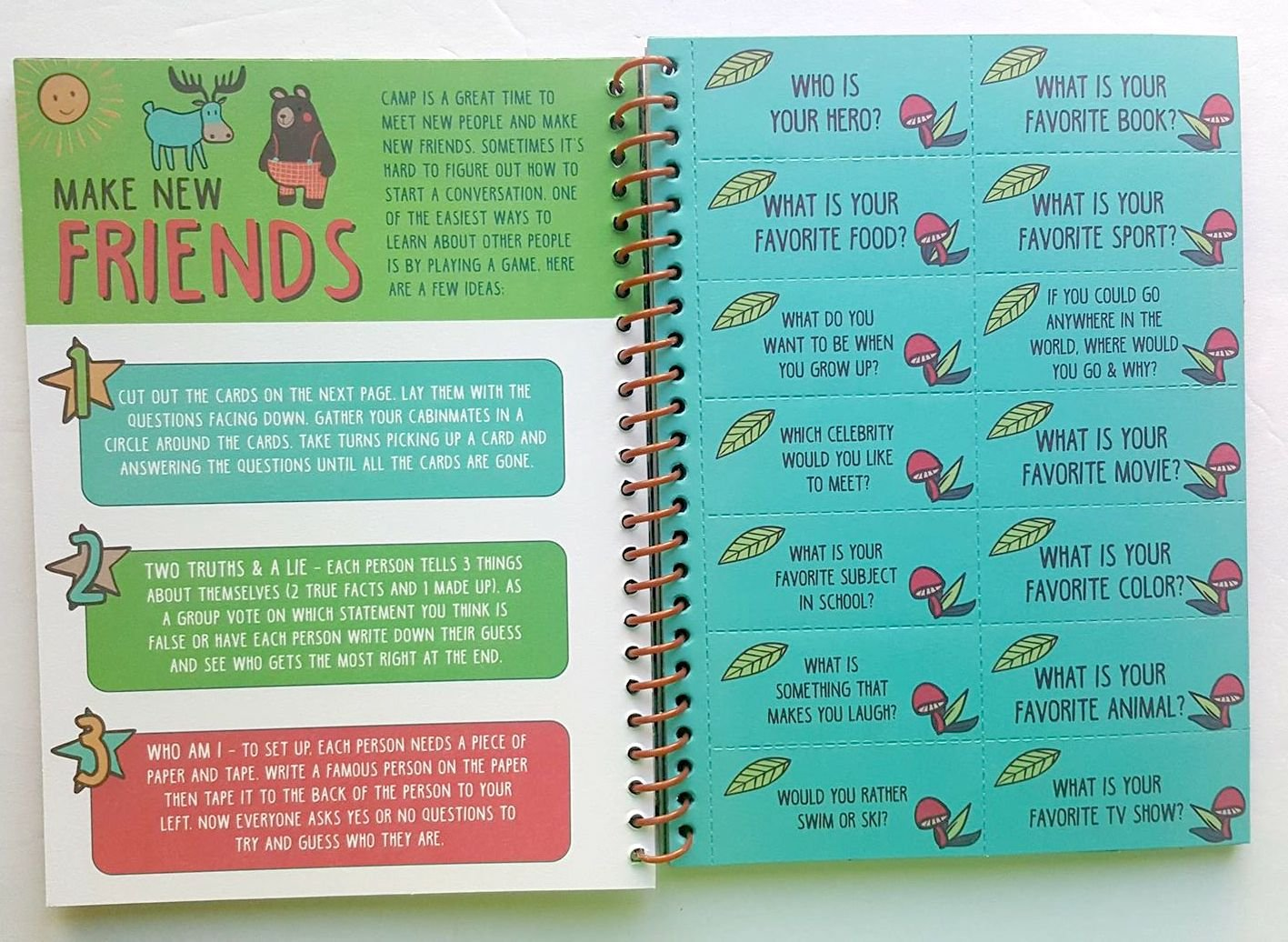 Nikkis Knick Knacks Fun Filled Summer Camp Journal and Activity Book