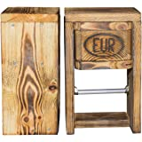 toilettenpapierhalter wc papier rollenhalter holz box fuer feuchttuecher k che. Black Bedroom Furniture Sets. Home Design Ideas