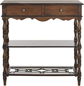 Safavieh American Homes Collection Fiona Dark Brown Console Table