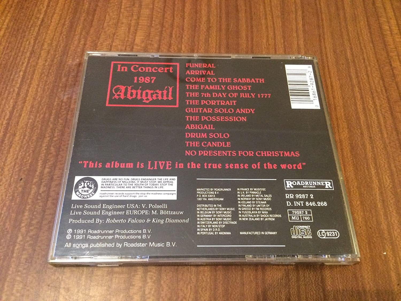 King Diamond - Live in Concert 1987 - Amazon.com Music