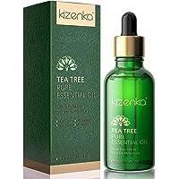 Aceite de árbol de té kizenka para piel, aceite esencial de árbol de té para tratamiento facial natural para acné…