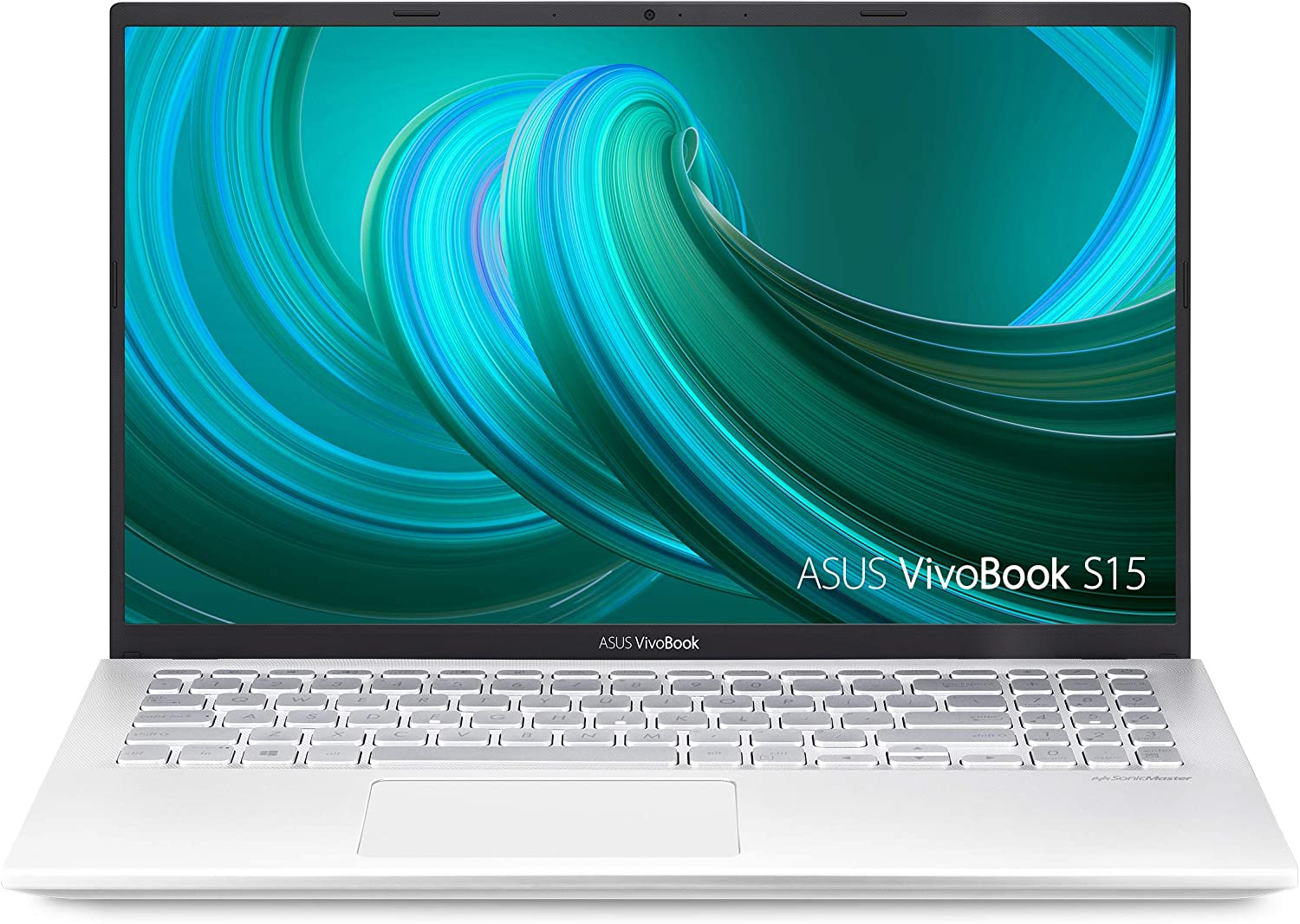 "Asus Vivobook S15 S512 Thin and Light 15.6"" FHD, Intel Core I5-8265U CPU, 8GB RAM, 256GB PCIe Nvme SSD, NVIDIA GeForce MX250, Windows 10 Home, S512FL-PB52, Silver-Metal"