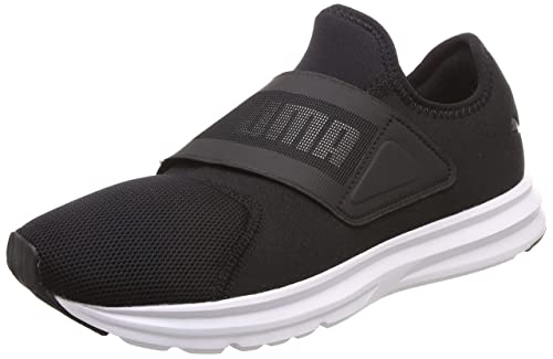 4b46ef25155863 Puma Men s Enzo Strap 2 Black White Running Shoes  Buy Online at Low ...