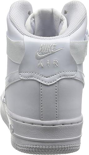 Nike Air Force 1 High GS Nero 653998 001 Nuovo Modello 2015