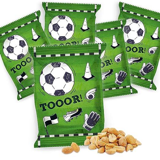 Logbuch-Verlag - Bolsa de Cacahuetes de fútbol, decoración ...