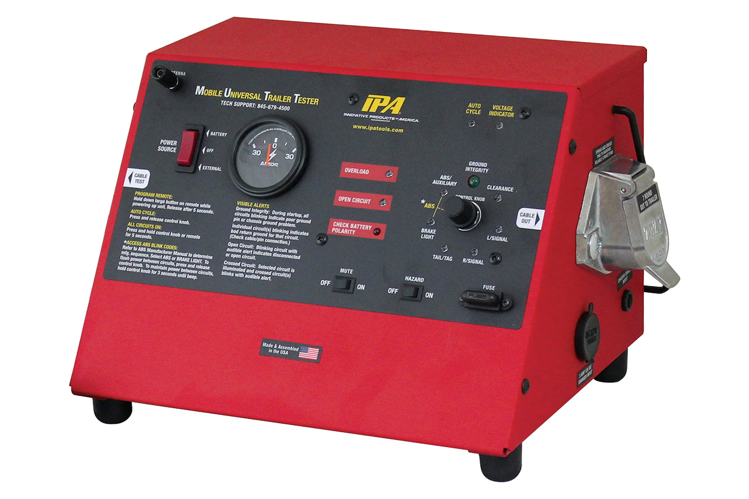 Innovative Products Of America IPA 9007A Smart MUTT Trailer Tester (7 Round Pin Style) by Innovative Products Of America (Image #2)