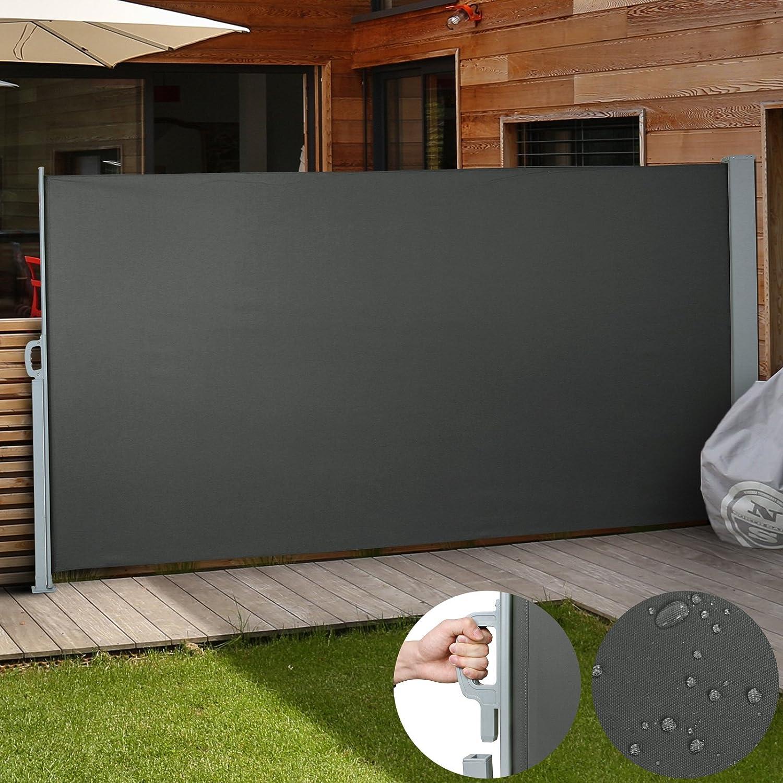 Amazon Jago Seitenmarkise zum Schutz 180 x 300 cm anthrazit