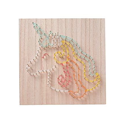 Amazon Com Fun Express Unicorn String Art Ck Craft Kits Adult