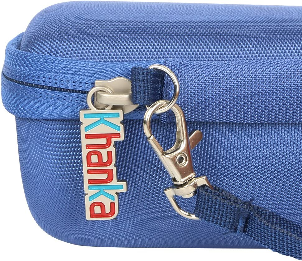 Khanka Hard Travel Case Compatible with Sony SRS-XB21 Portable Wireless Bluetooth Speaker Blue Blue