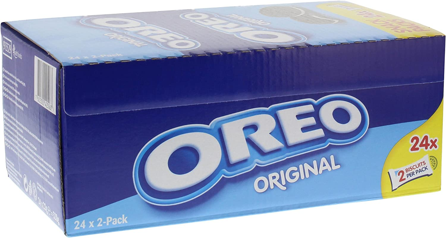 Oreo Mini Biscuits Chocolate-flavoured Sandwich with White Filling ...