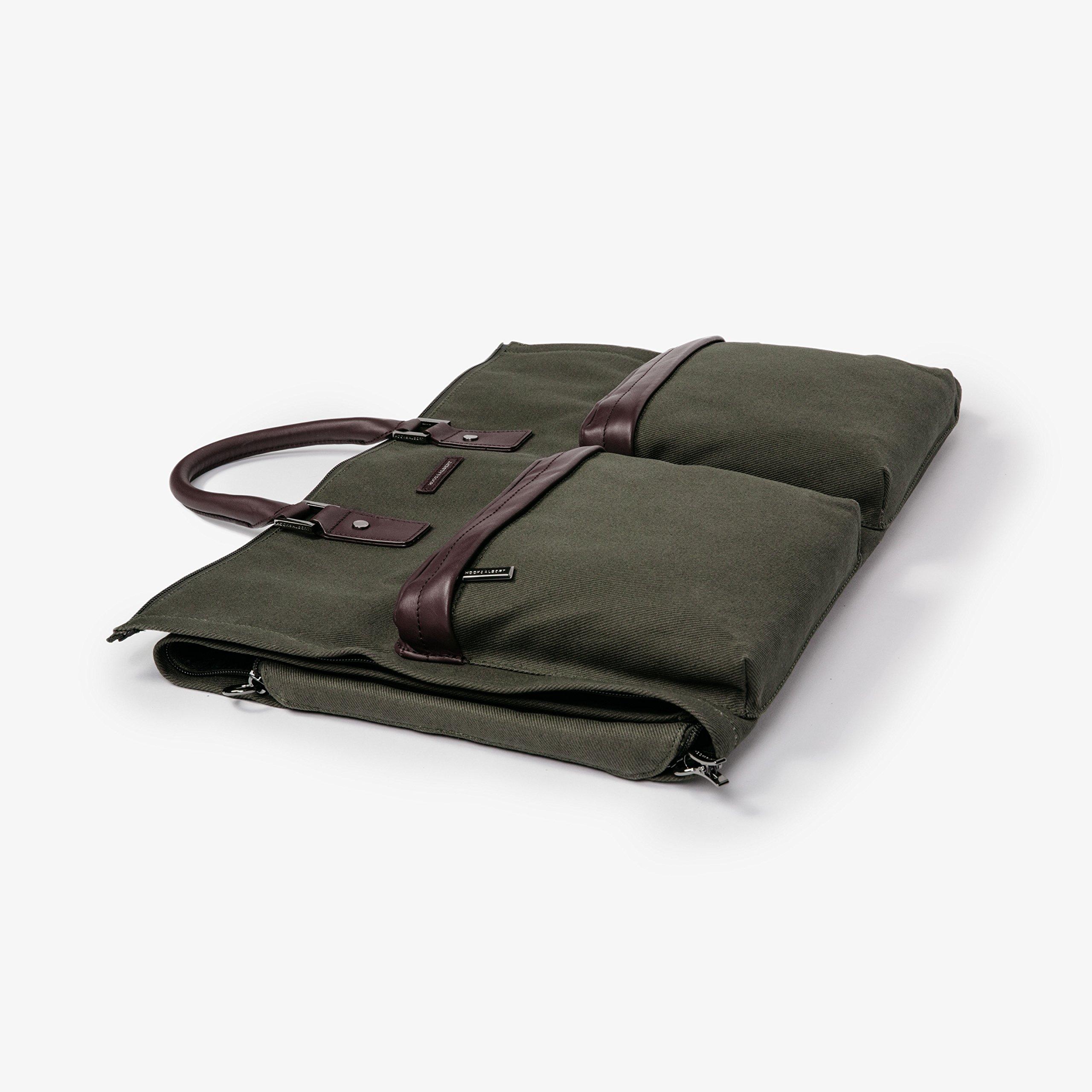 Hook & Albert Garment Weekender Bag (Olive) by HOOK & ALBERT (Image #2)