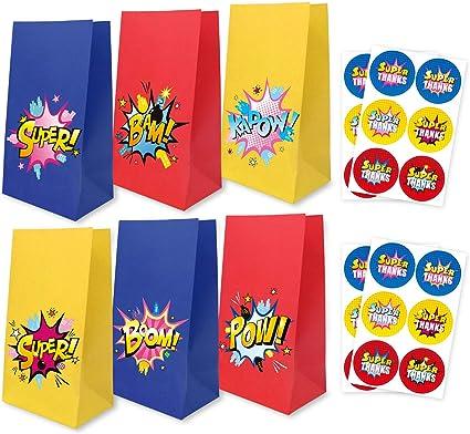 Amazon.com: Bombs Goodie Bolsas con pegatinas de ...