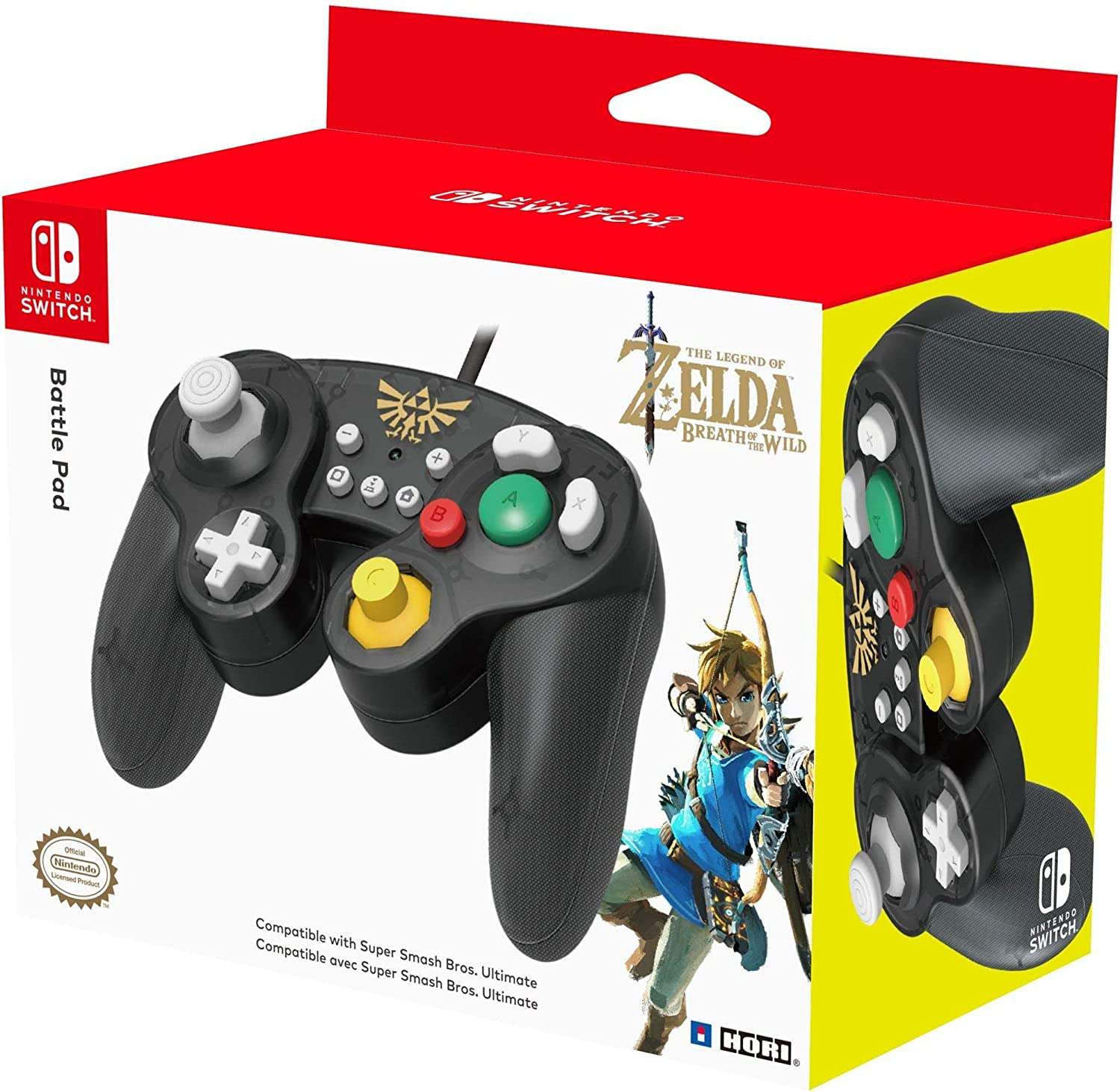 HORI - Battle Pad Zelda (Nintendo Switch): Amazon.es: Videojuegos