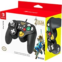 Hori Battle Pad (Zelda) - Controller USB in stile Gamecube Per Nintendo Switch - Ufficiale Nintendo - Nintendo Switch