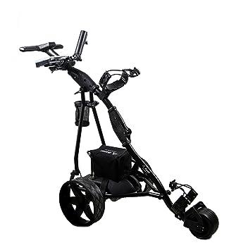 Airel Carrito de Golf Eléctrico Plegable |Carro Golf 3 Ruedas|Golf Trolley-Negro: Amazon.es: Deportes y aire libre
