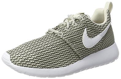 dd243bb5a01fa Nike Roshe One Big Kid s (GS) Shoes Light Bone White Cobble Stone