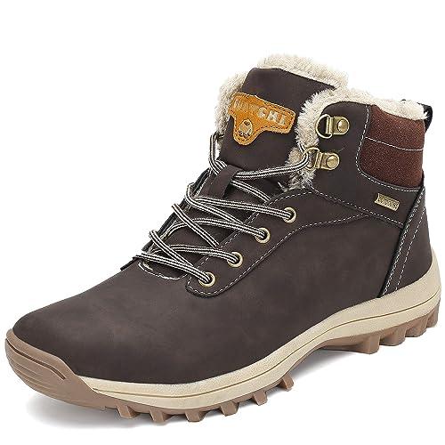 d7c4b3a01 Pastaza Hombre Mujer Botas de Nieve Senderismo Impermeables Deportes  Trekking Zapatos Invierno Forro Piel Sneakers  Amazon.es  Zapatos y  complementos