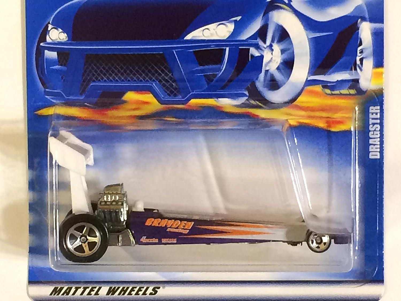 #2001-164 Dragster Mini 5-Spoke Wheel Collectible Collector Car Mattel Hot Wheels