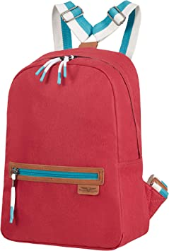 American Tourister Fun Limit - Mochila estilo de vida, color Rojo (Cardinal Red)