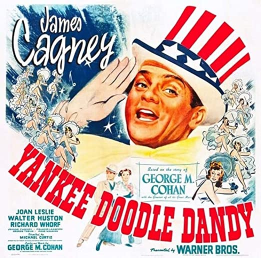 Amazon.com: Yankee Doodle Dandy Us Poster James Cagney 1942 Movie Poster  Masterprint (11 x 17): Posters & Prints