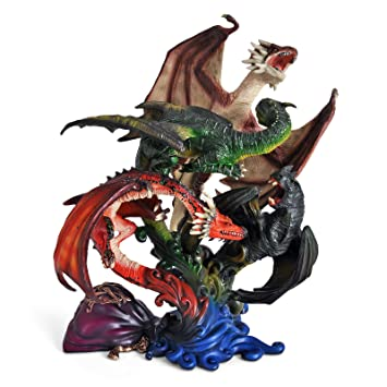 Harry Potter Sculpture Dragons of The First Task 27 cm Noble Collection Statues