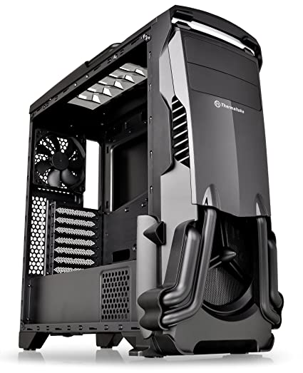 Thermaltake Versa N24 Black ATX Mid Tower Gaming Computer Case Chassis with P...