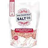 Sherpa Pink Gourmet Himalayan Salt - 5 lb. Bag Coarse Grain - For Grinders and Salt Mills