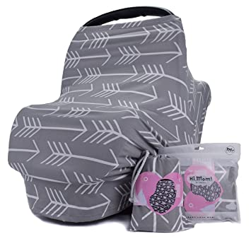 Breastfeeding Nursing Cover Baby Car Seat Cover for Girls and Boys