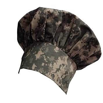 2cd718734781f Image Unavailable. Image not available for. Color  Personalized Chef Hat  CAMO Camouflage Digital ...
