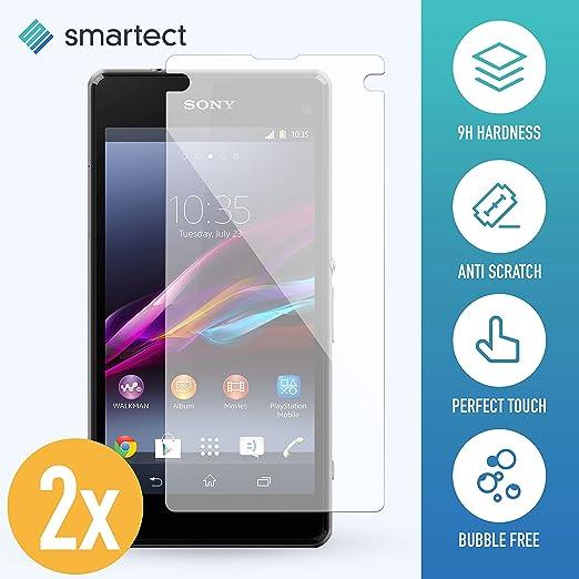 10 opinioni per 2x Pellicola in Vetro Temperato per Sony Xperia Z1 Compact de smartect®   Film