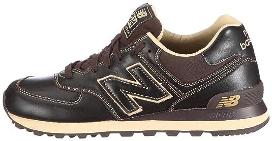 New Balance Nb Ml574 Braun Brown Coffee Leder