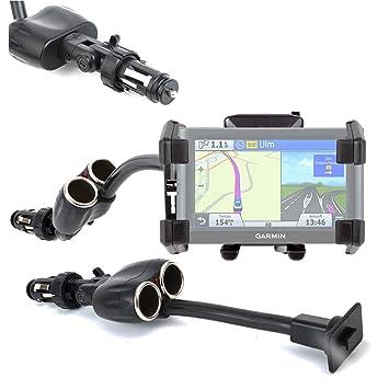 DURAGADGET Soporte De Coche Flexible para GPS Garmin nüvi 2599LMT-D/Becker Active.5 LMU/Plus: Amazon.es: Electrónica
