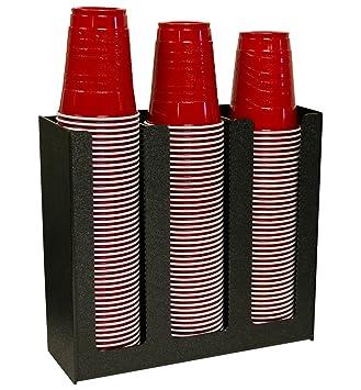 Dispensador de vasos de café o de calor para tapas para 12 oz., 16