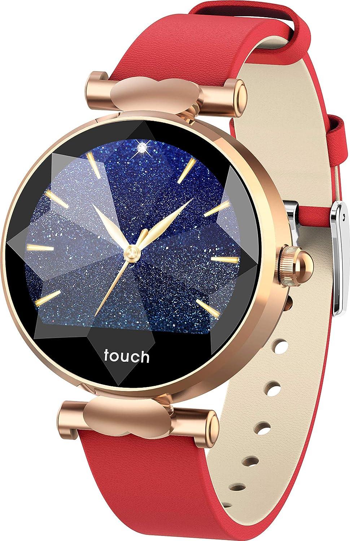Reloj Inteligente para Mujer Chicas, Bluetooth Smartwatch ...