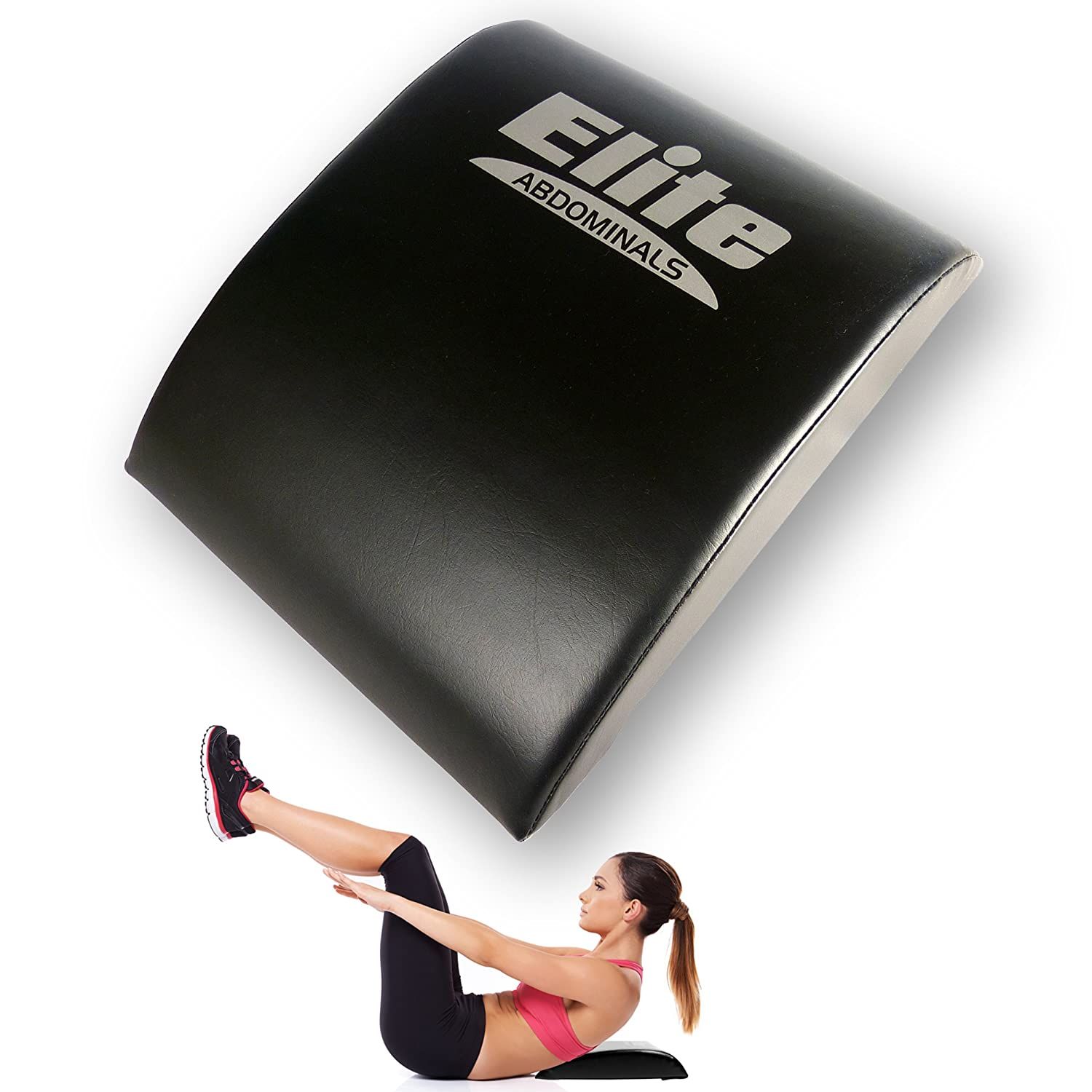 Elite Ab Sit Up Mat – Our Sit up Pillow Gives Great Lower Back Support, Helping to Remove All The Strain, Making Sit Ups Easy – Abdominal Sit Up Pad with Bonus Resistance Band Included