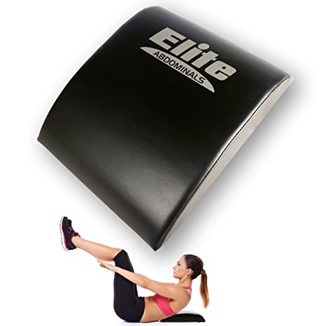 Ab Mat Abdominal Trainer Sit Up Support Pad Black Muscle Pads Exercise Fitness Fitness, Running & Yoga Sporting Goods