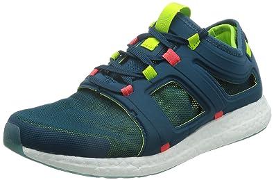 adidas Herren CC Rocket M Laufschuhe, Verde/Rojo (Minera/Seliso/Rojimp