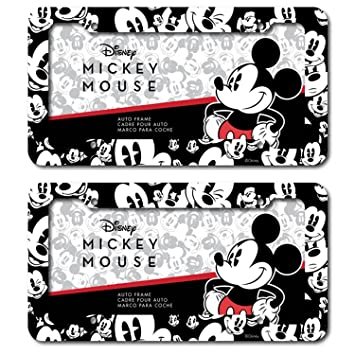 Disney Mickey Mouse Expressions Emotions Plastic License Plate frame Universal (2)  sc 1 st  Amazon.com & Amazon.com: Disney Mickey Mouse Expressions Emotions Plastic License ...
