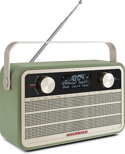 portatile + Radio Digitale con batteria integrata verde Radio transita 120/