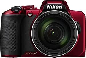 Nikon Coolpix B600 Digital Camera, Red