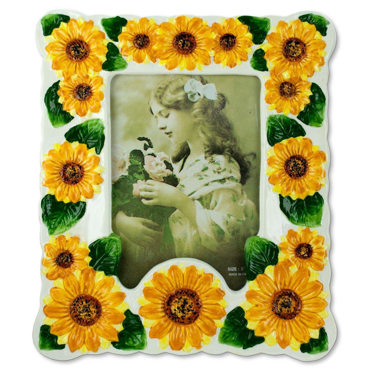 Amazon.de: stealstreet Sonnenblume Keramik Bilderrahmen