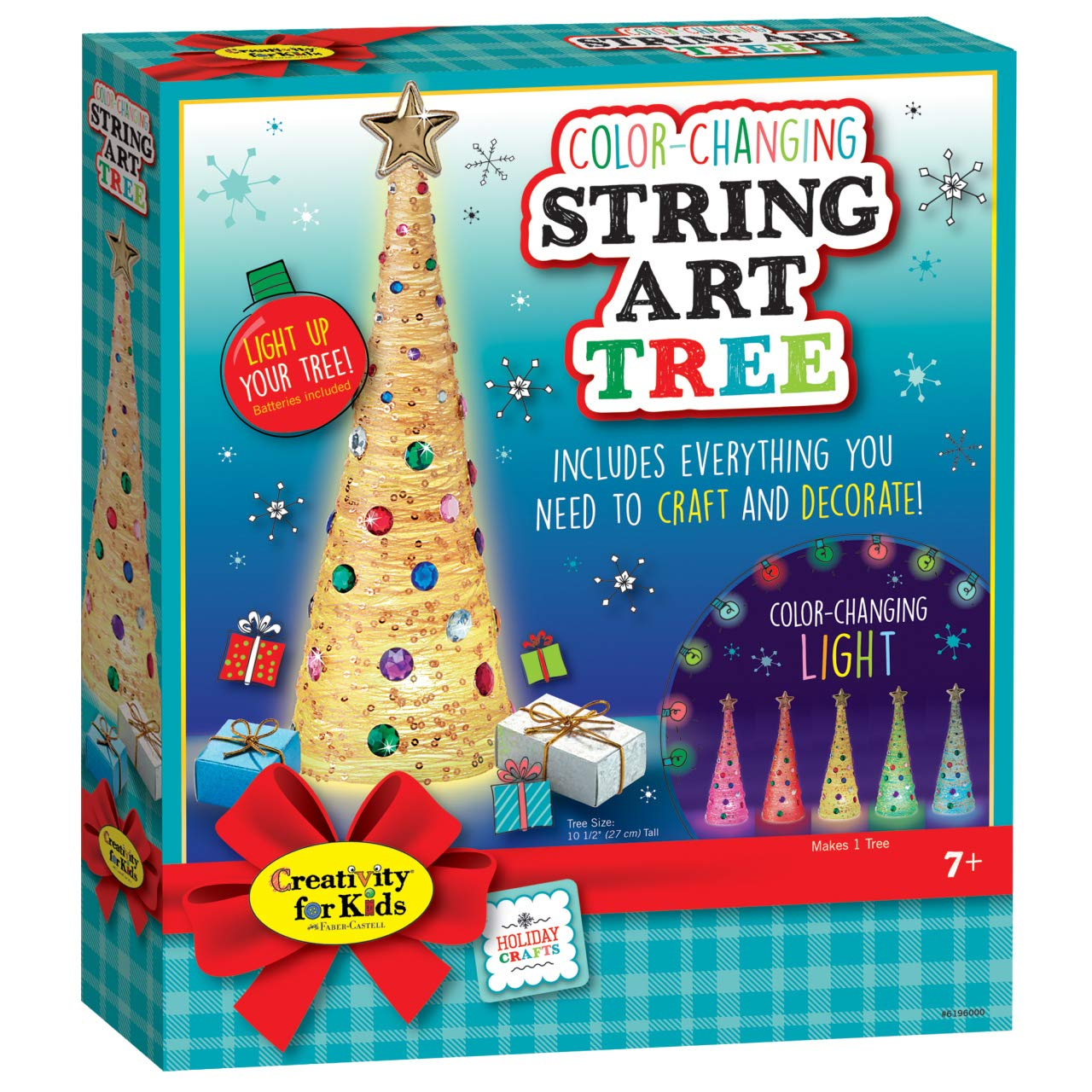 Amazon Com Creativity For Kids Color Changing String Art Tree