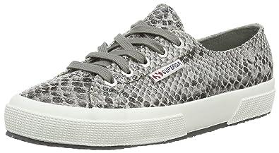 61b091f86d77 Superga 2750 Cotu Snake, Unisex-Erwachsene Sneakers, Grau (908), 37 ...