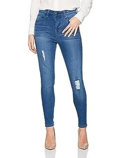 a1afe5181ed Lola Jeans Women s Lauren Mid Rise 4-Way Stretch Denim Classic Boot ...