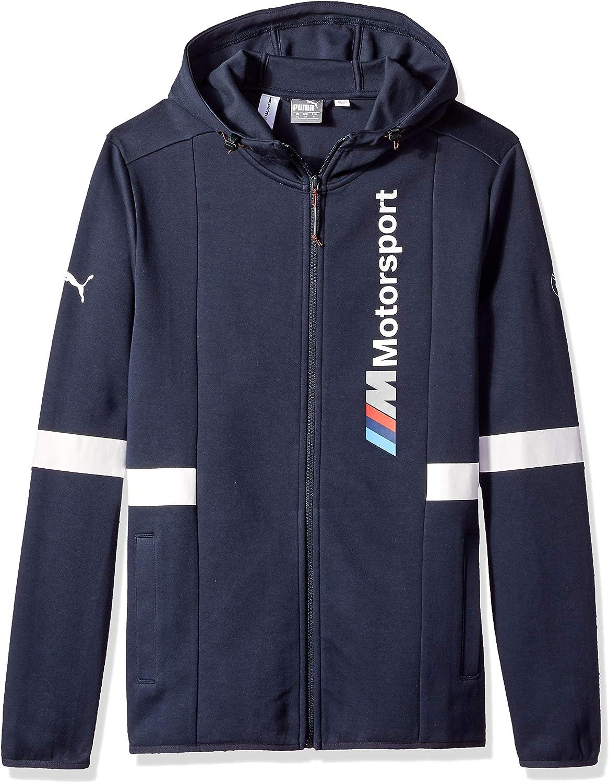 PUMA Mens Standard BMW Motorsport Hooded Sweat Jacket