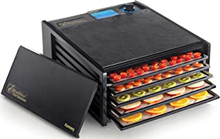 product image for Excalibur 2500ECB 5-Tray Food Dehydrator with Adjustable Thermostat for Temperature Control Patented Technology for Faster and Efficient 8 Square Feet, Black