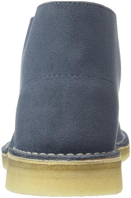8449b98a2e9e Clarks Originals Desert Boot, Herren Kalt gefüttert Desert Boots Kurzschaft  Stiefel   Stiefeletten, Blau (Denim), 41 EU 7 UK  Amazon.de  Schuhe   ...