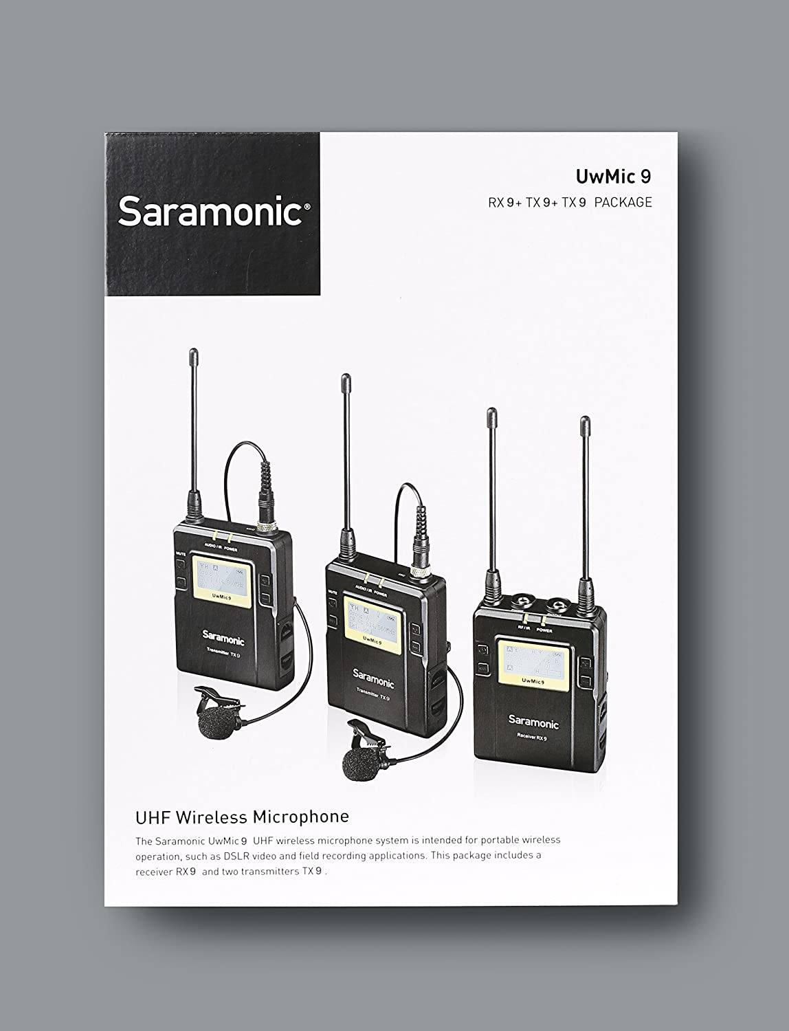 81w3W8W2J8L._SL1500_ saramonic uwmic9 wireless receiver and twin transmitter kit Basic Electrical Wiring Diagrams at edmiracle.co